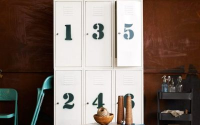 Storage Solutions with Lockers Around the Home